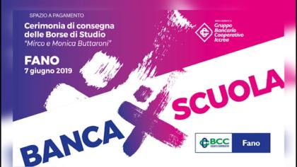 BCC Fano – Cerimonia di consegna delle borse di studio (giugno 2019)