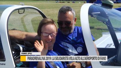 Paradrenalina 2019: la solidarietà vola alto all'aeroporto di Fano – VIDEO