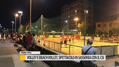 Volley e beach volley, spettacolo in Sassonia con il CSI – VIDEO