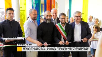 """Mondolfo: inaugurata la seconda edizione di """"Synesthesia Festival"""" – VIDEO"""