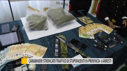 Carabinieri, stroncato traffico di stupefacenti in provincia: 6 arresti – VIDEO