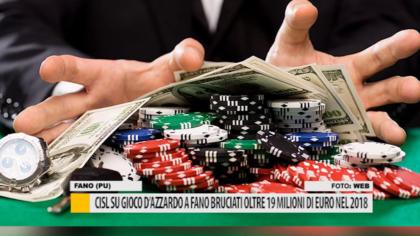 CISL su gioco d'azzardo, a Fano bruciati oltre 19 milioni di euro nel 2018 – VIDEO
