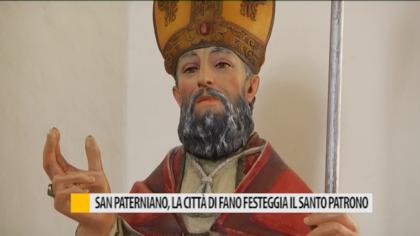San Paterniano, la città di Fano festeggia il santo patrono – VIDEO