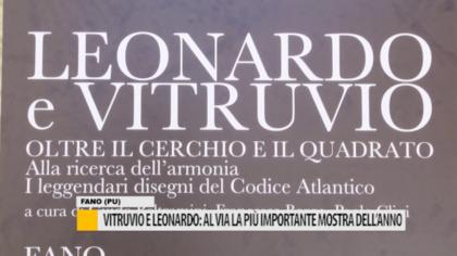 Vitruvio e Leonardo: al via la più importante mostra dell'anno – VIDEO