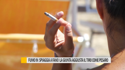 Fumo in spiaggia, interviene assessore regionale Sciapichetti – VIDEO