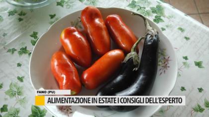 Alimentazione in estate i consigli dell'esperto – VIDEO