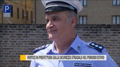 Vertice in prefettura sulla sicurezza stradale nel periodo estivo – VIDEO