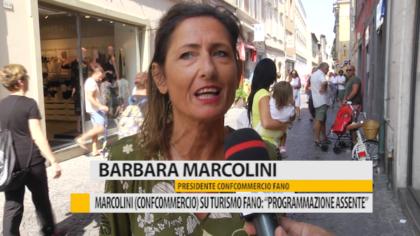 """Marcolini (Confcommercio) su turismo Fano: """"Programmazione assente"""" – VIDEO"""