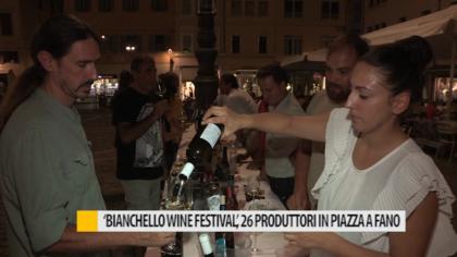 'Bianchello Wine Festival', 26 produttori si incontrano in piazza a Fano – VIDEO