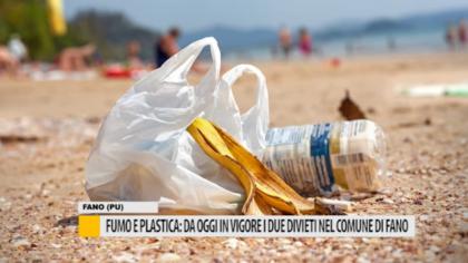 Fumo e plastica: da oggi in vigore i due divieti nel comune di Fano – VIDEO