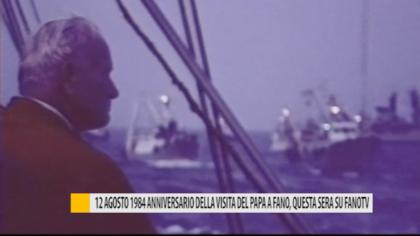 Anniversario della visita del papa a Fano – VIDEO