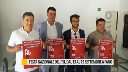 Festa Nazionale del PSI, dal 13 al 15 settembre a Fano – VIDEO