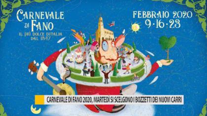 Carnevale di Fano 2020, martedì si scelgono i bozzetti dei nuovi carri – VIDEO