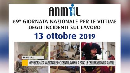 69ª Giornata Nazionale Incidenti Lavoro, a Fano le celebrazioni di Anmil – VIDEO