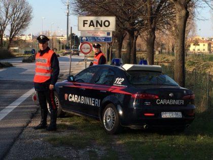 Carabinieri Fano: Un arresto per violenza sessuale e quattro denunce