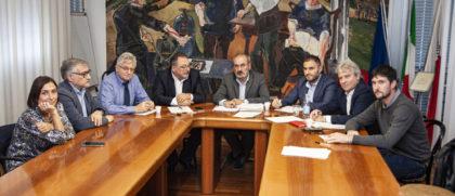 Il presidente Paolini ha incontrato i parlamentari eletti nel territorio per parlare del Nolfi e Raffaello