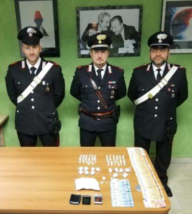 27enne Albenese, incensurato, arrestato dai carabinieri. Nascondeva in casa 130 gr. di cocaina
