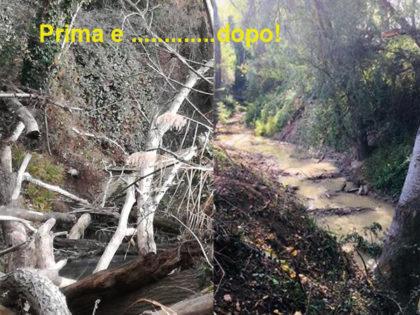 Nuovo intervento di messa in sicurezza del torrente Arzilla a Fano