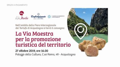 La Via Maestra per la promozione turistica del territorio – Confartigianato (27 ottobre 2019)