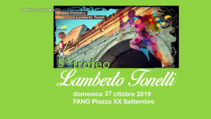 5° Trofeo Lamberto Tonelli (27 ottobre 2019)