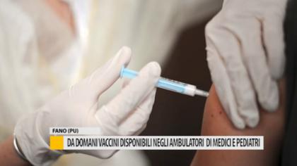 Da giovedì vaccini disponibili negli ambulatori dei medici e pediatri – VIDEO