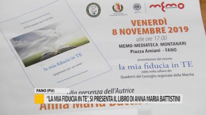 """""""La mia fiducia in te"""", si presenta il libro di Anna Maria Battistini – VIDEO"""