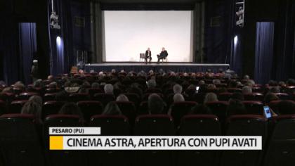 Il cinema Astra riapre le porte. Ospite d'onore il regista Pupi Avati – VIDEO