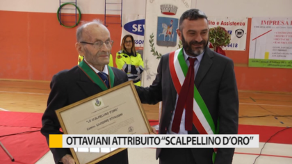 Sant'Ippolito, consegnata benemerenza a Giuseppe Ottaviani – VIDEO