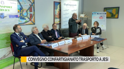 A Jesi convegno della Confartigianato Trasporti – VIDEO