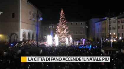 La città di Fano accende il Natale 2019 – VIDEO