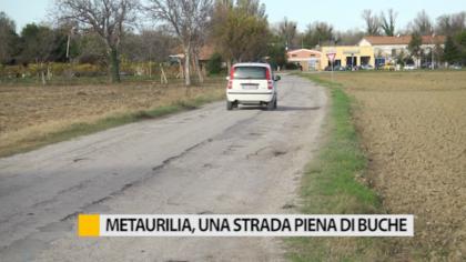 Metaurilia, i residenti lamentano le condizioni del manto stradale – VIDEO