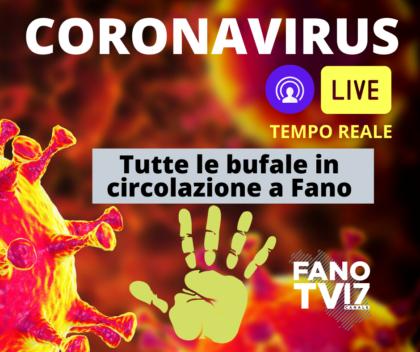 Coronavirus, ecco tutte le bufale in circolazione a Fano sui presunti contagi