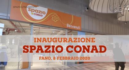 Inaugurazione spazio Conad (8 febbraio 2020)