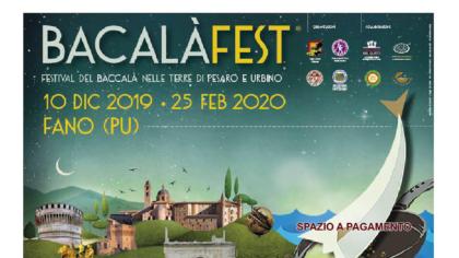 BACALÀFEST Festival del Baccalà nelle terre di Pesaro e Urbino (25 febbraio 2020)