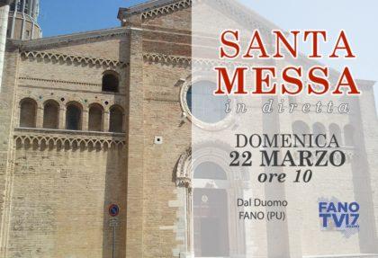 In diretta su Fano TV la santa Messa della IV Domenica di Quaresima